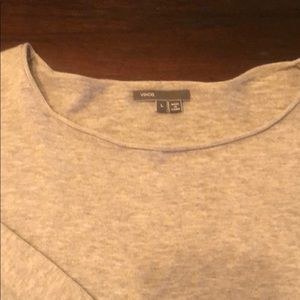 Vince gray cotton sweater